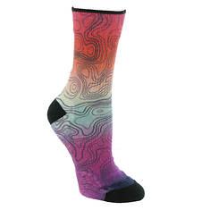 Smartwool Women's PhD Outdoor Light Print Mid Crew Socks