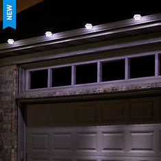 4-Pack Solar Gutter Lights