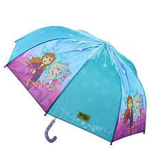 Western Chief Girls' Frozen Fearless Sisters Umbrella