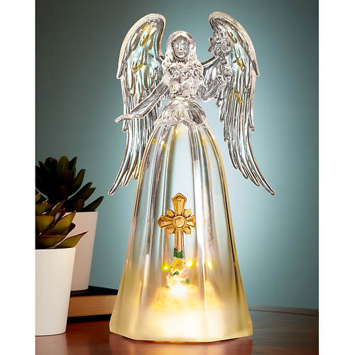 Angel with Lighted Cross