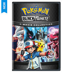 Pokemon Black-and-White 4-Movie Collection (DVD)