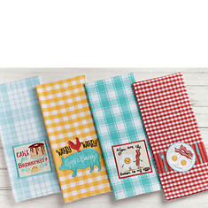 4-Piece Dish Towel Set