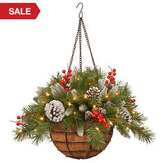 20'' Frost Berry Basket with Lights