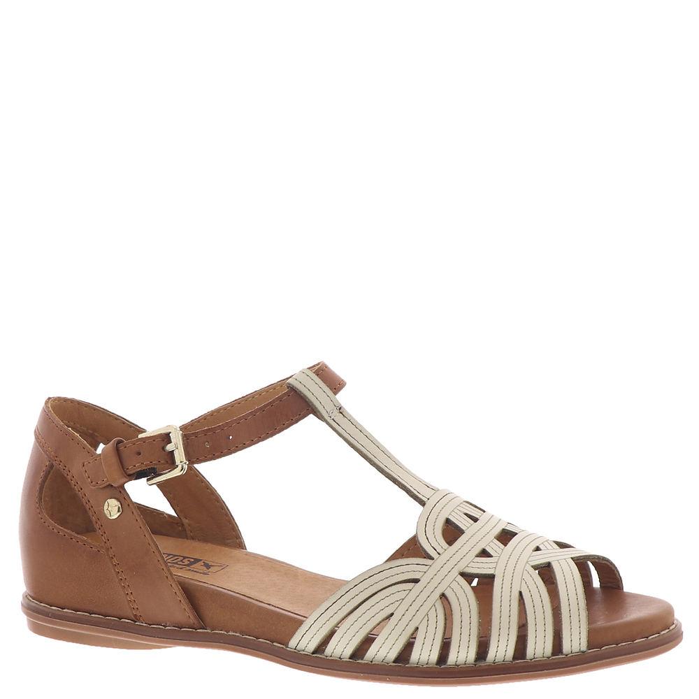 Vintage Sandals | Wedges, Espadrilles – 30s, 40s, 50s, 60s, 70s Pikolinos Talavera W3D-0668C1 Womens White Sandal Euro 38 US 7.5 - 8 M $143.99 AT vintagedancer.com