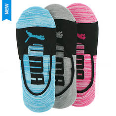 PUMA Women's P113205 Liner 3-Pack Socks