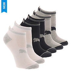PUMA Women's P114443 Low Cut 6-Pack Socks