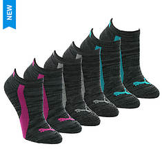 PUMA Women's P113946 Low Cut 6-Pack Socks
