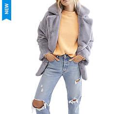 Free People Women's Kate Faux Fur Coat