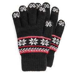 MUK LUKS Women's Lined Touchscreen Gloves