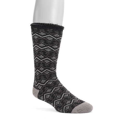 MUK LUKS Men's 1 Pair Heat-Retainer Thermal Socks