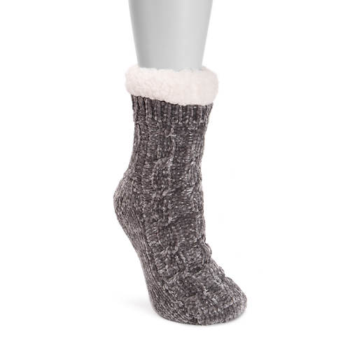MUK LUKS Women's 1-Pair Chenille Cabin Socks
