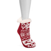 MUK LUKS Women's Bootie Socks