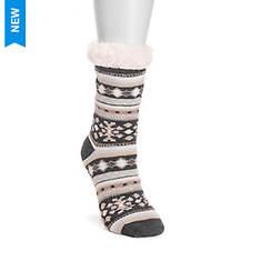 MUK LUKS Women's 1-Pair Cabin Socks