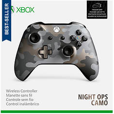 Xbox One Wireless Controller: Night Ops Camo