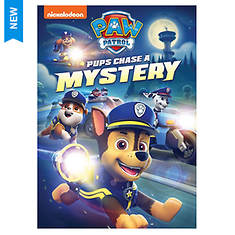 Paw Patrol: Pups Chase A Mystery (DVD)