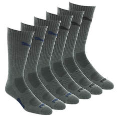 PUMA Men's P113702 Crew 6-Pack Socks