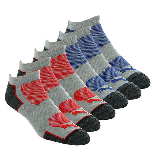 PUMA Men's P114391 Low Cut 6 Pack Socks