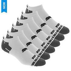 PUMA Men's P114382 Low Cut 6 Pack Socks