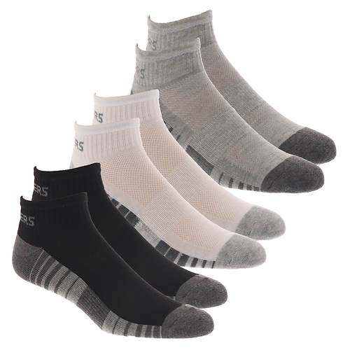 Skechers Men's S112392 Quarter 6-Pack Socks