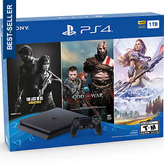 PS 4 1TB Only on PlayStation Console Bundle