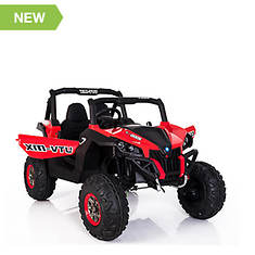 12V Two-Seat Battery-Operated Wild UTV Car