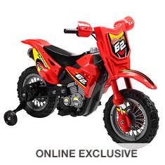6V Battery-Operated Dirt Bike