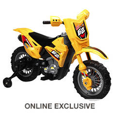 6V Battery-Operated Dirt Bike