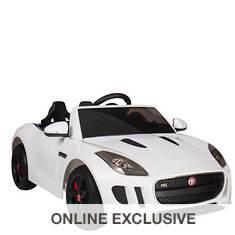 1:4 F-Type Jaguar Battery-Operated Race Car