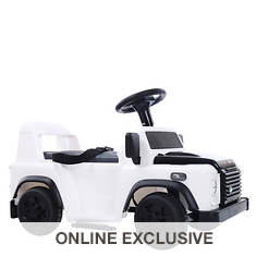 6V Land RoverBattery-Operated Ride-On