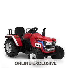 12V Battery-Operated Big-Wheeled Tractor