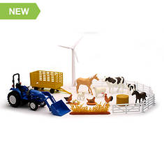New Holland Tractor Playset