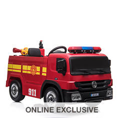 12V Battery-Operated Fire Truck