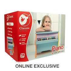 Wooden Kids Colorful Piano