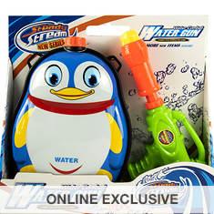 Backpack Penguin Water Blaster