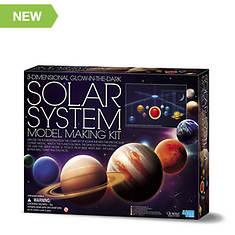 3D Glow-in-the-Dark Solar System Mobile Making Kit