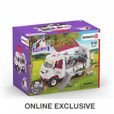 Schleich Mobile Vet with Foal Set