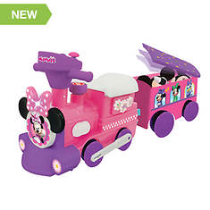 Minnie Mouse Motorized Train