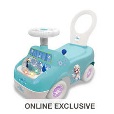 Frozen Magical Snow Globe Ride-On