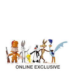 Looney Tunes 6-Piece Bendable Boxed Set