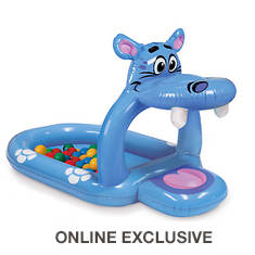 Happy Hippo Inflatable Ball Pit