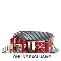 Schleich Red Barn with Animals