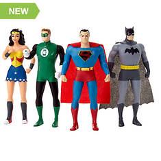 DC Comics Justice League 4-Piece Figures Set