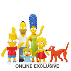 The Simpsons Family Bendable Boxed Set