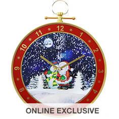Fraser Hill 23'' Wall Clock Santa Scene