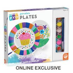 Paint Your Own: Porcelain Plates
