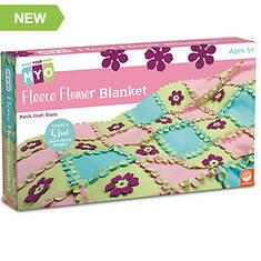 Make Your Own: Fleece Flower Blanket