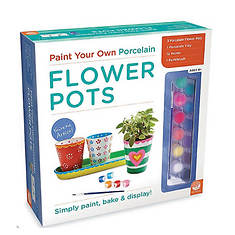 Paint Your Own: Porcelain Flower Pots