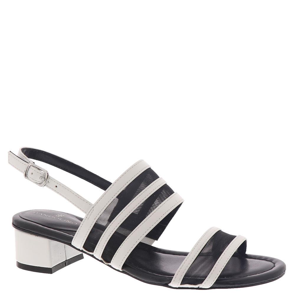 60s Shoes, Boots Bandolino Rochel3 Womens Black Sandal 6 M $68.95 AT vintagedancer.com