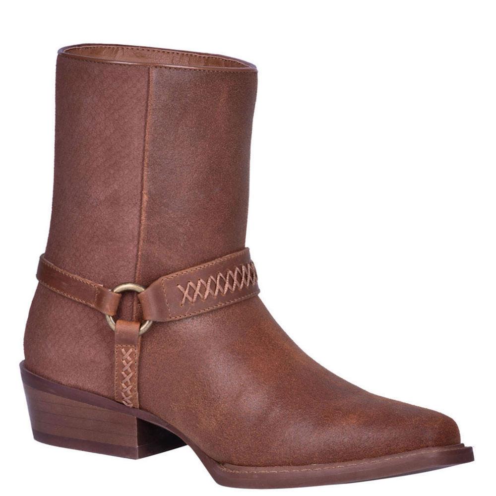 1970s Men's Clothes, Fashion, Outfits Dingo Butch Mens Brown Boot 7.5 D $149.95 AT vintagedancer.com