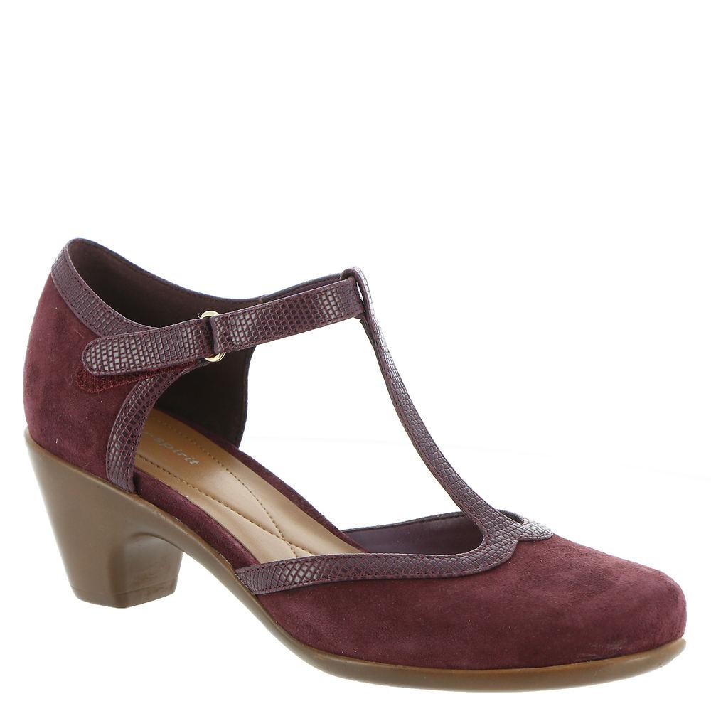 1950s Style Shoes | Heels, Flats, Boots Easy Spirit Cara Womens Burgundy Pump 9 N $49.99 AT vintagedancer.com